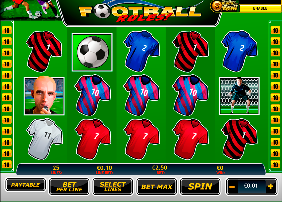football rules playtech online slots