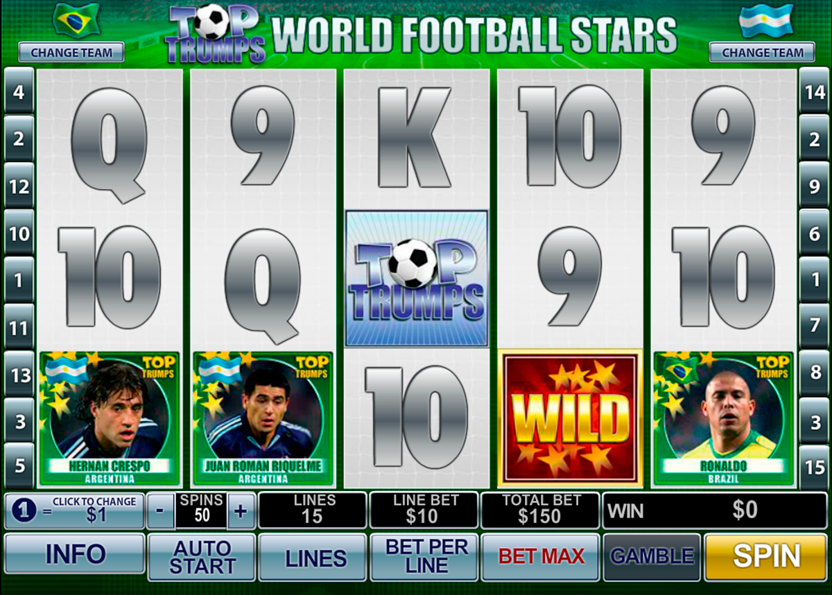 football stars playtech online slots