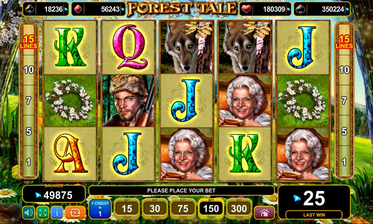 forest tale egt online slots