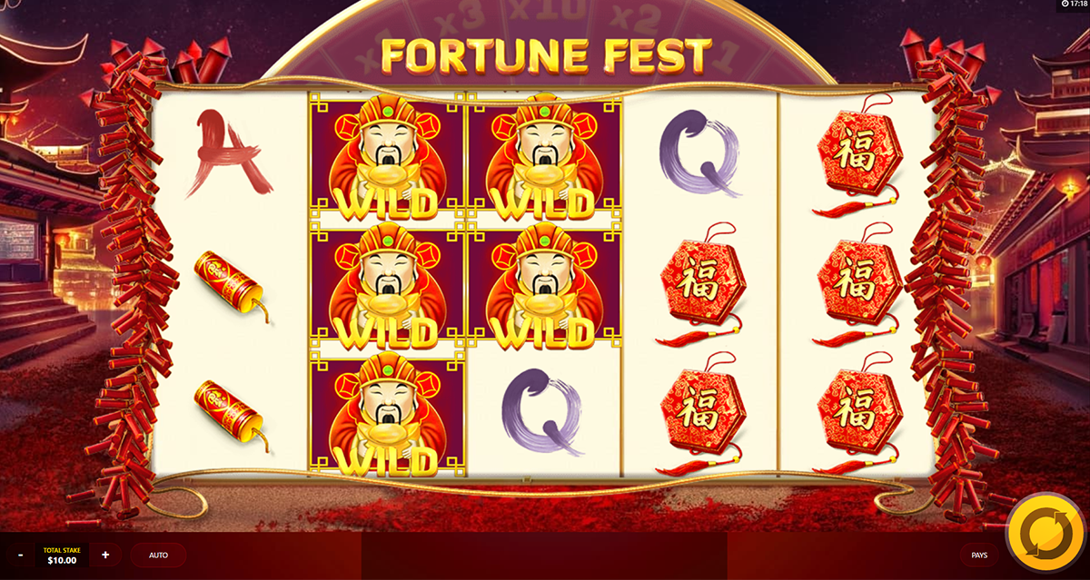 fortune fest red tiger online slots