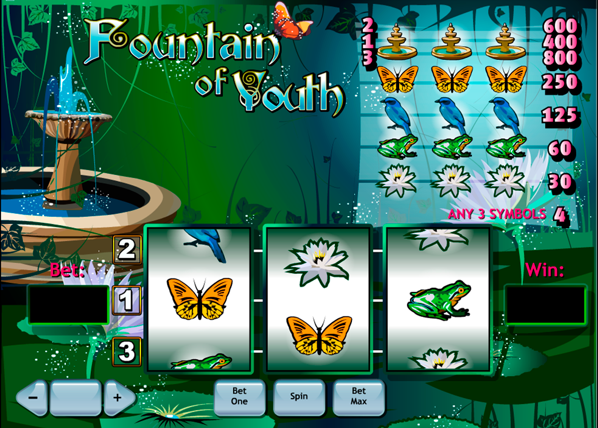 fountain of youth playtech online slots