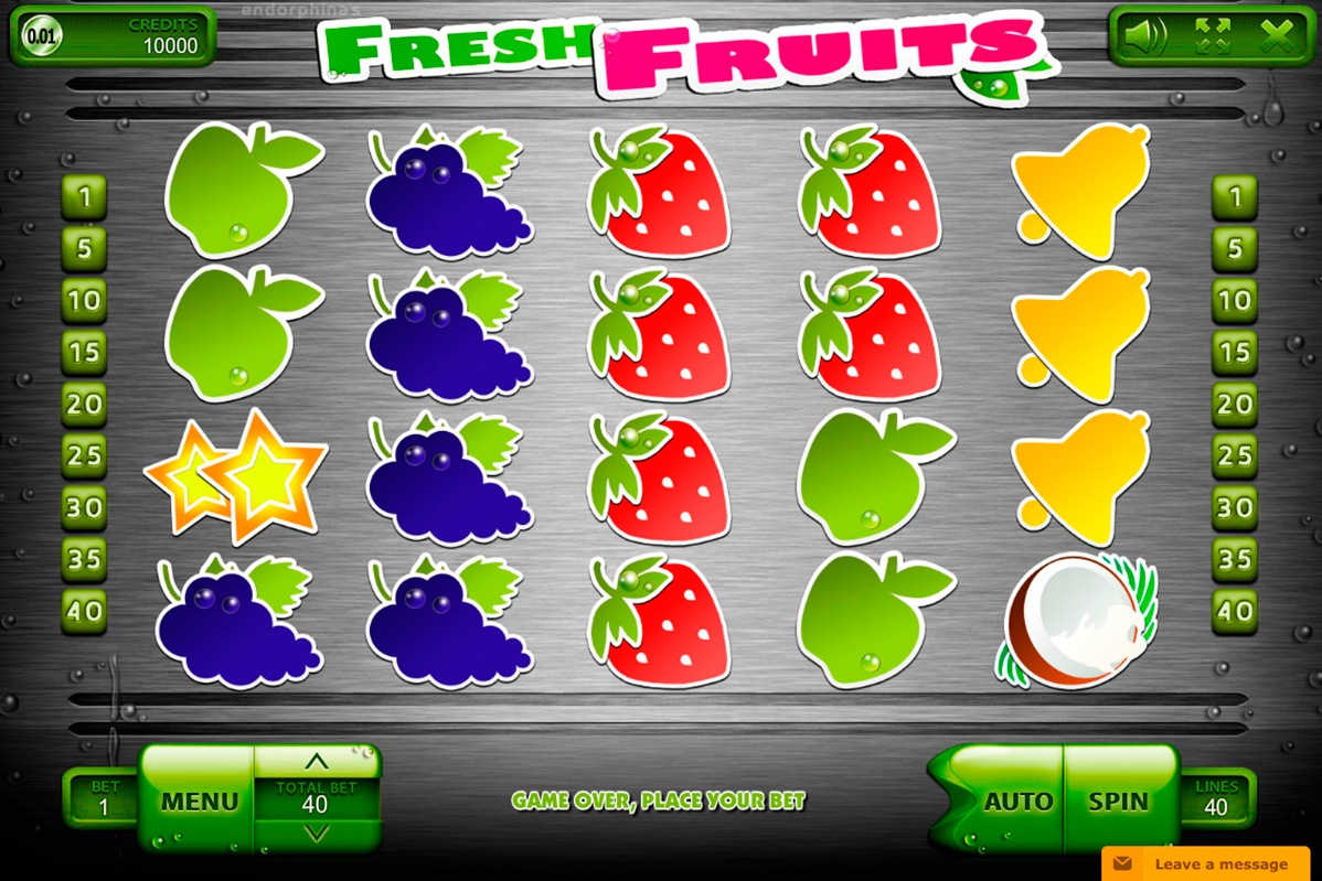 fresh fruits endorphina online slots