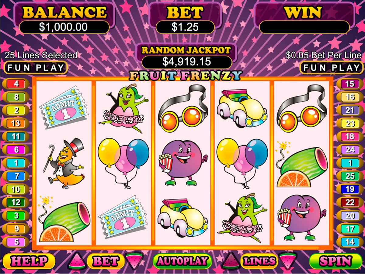 fruit frenzy rtg online slots