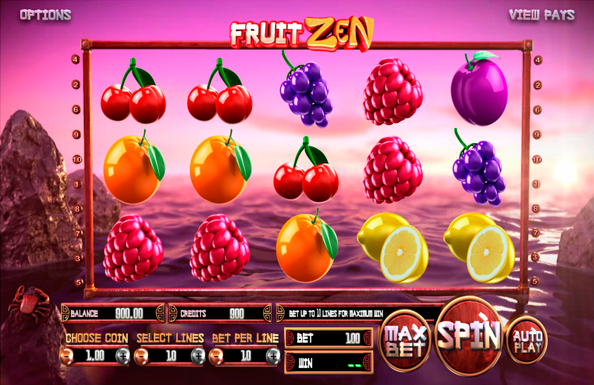 fruit zen betsoft online slots