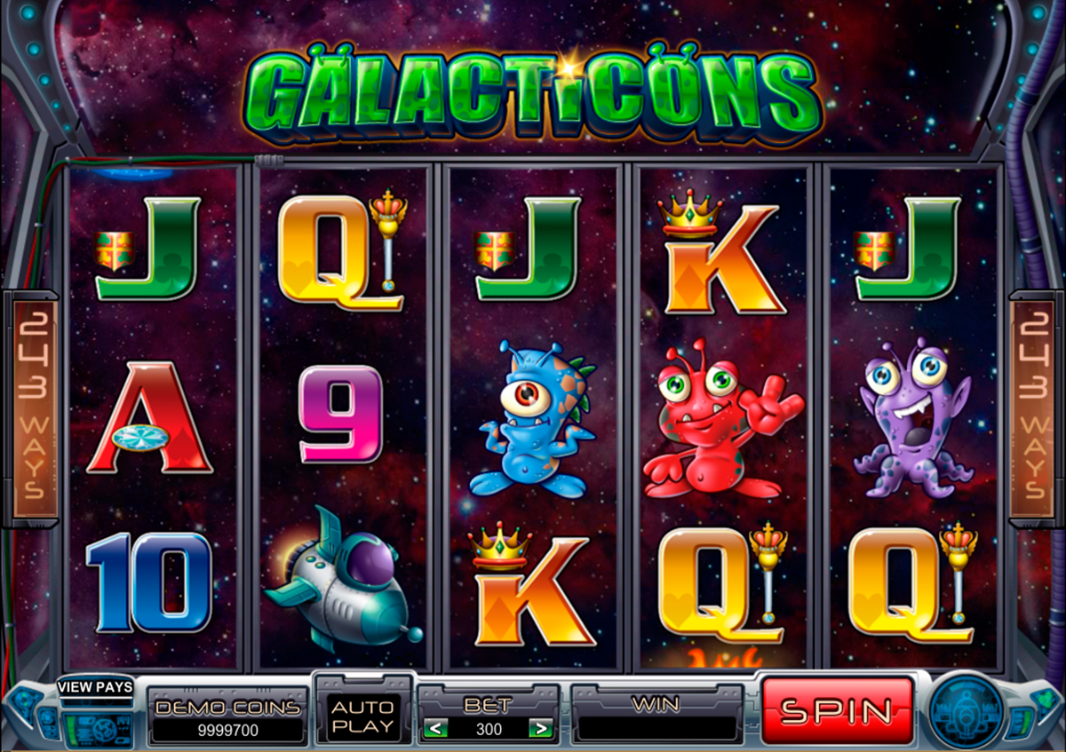 galacticons microgaming online slots