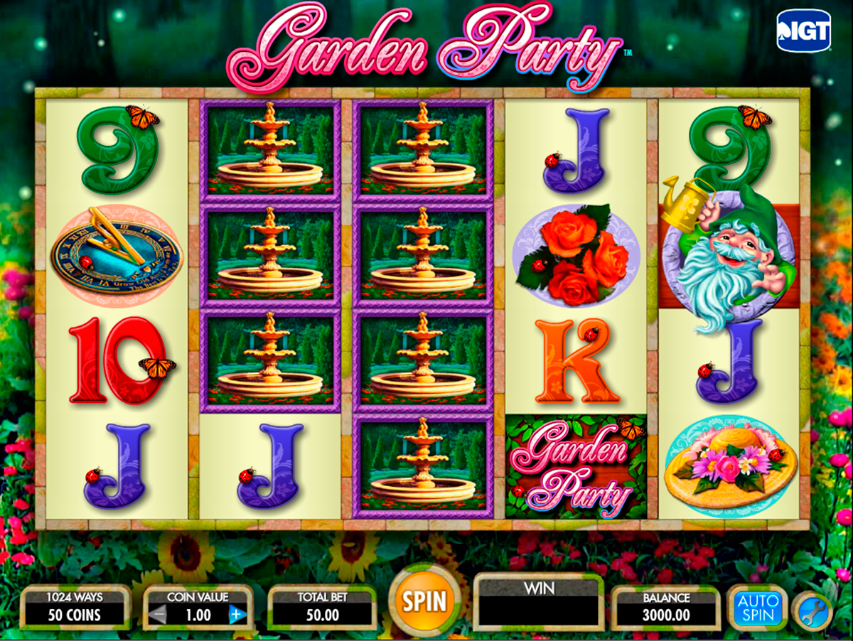 garden party igt online slots