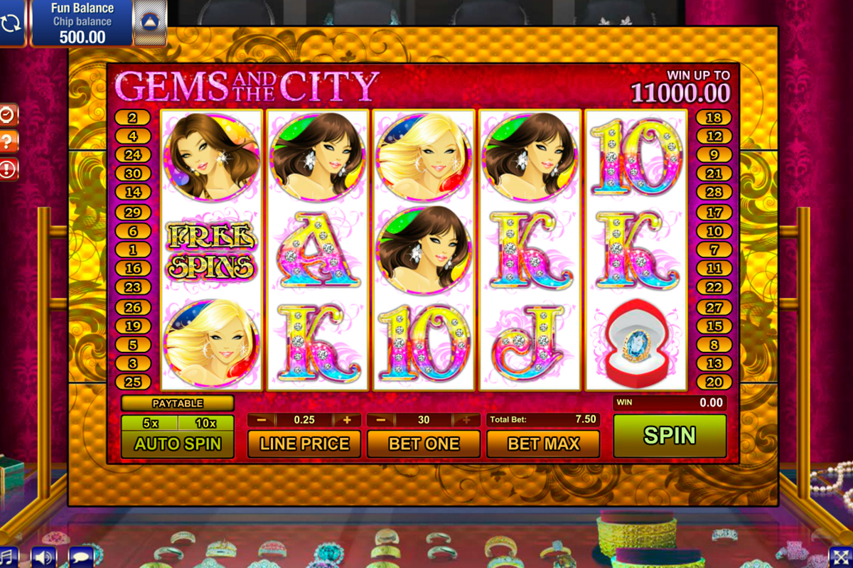 gems and the city gamesos online slots