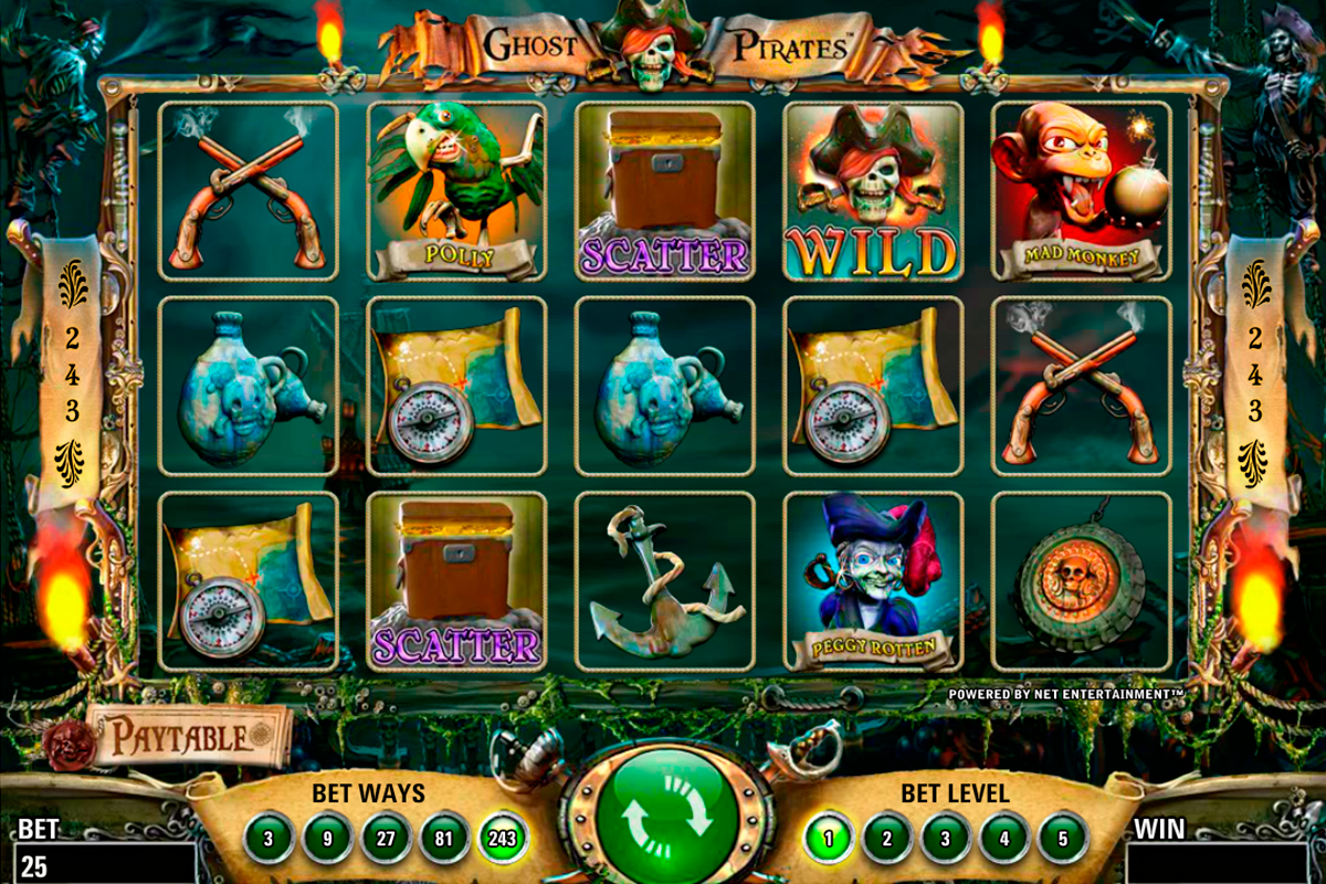 ghost pirates netent online slots