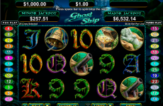 ghost ship rtg online slots