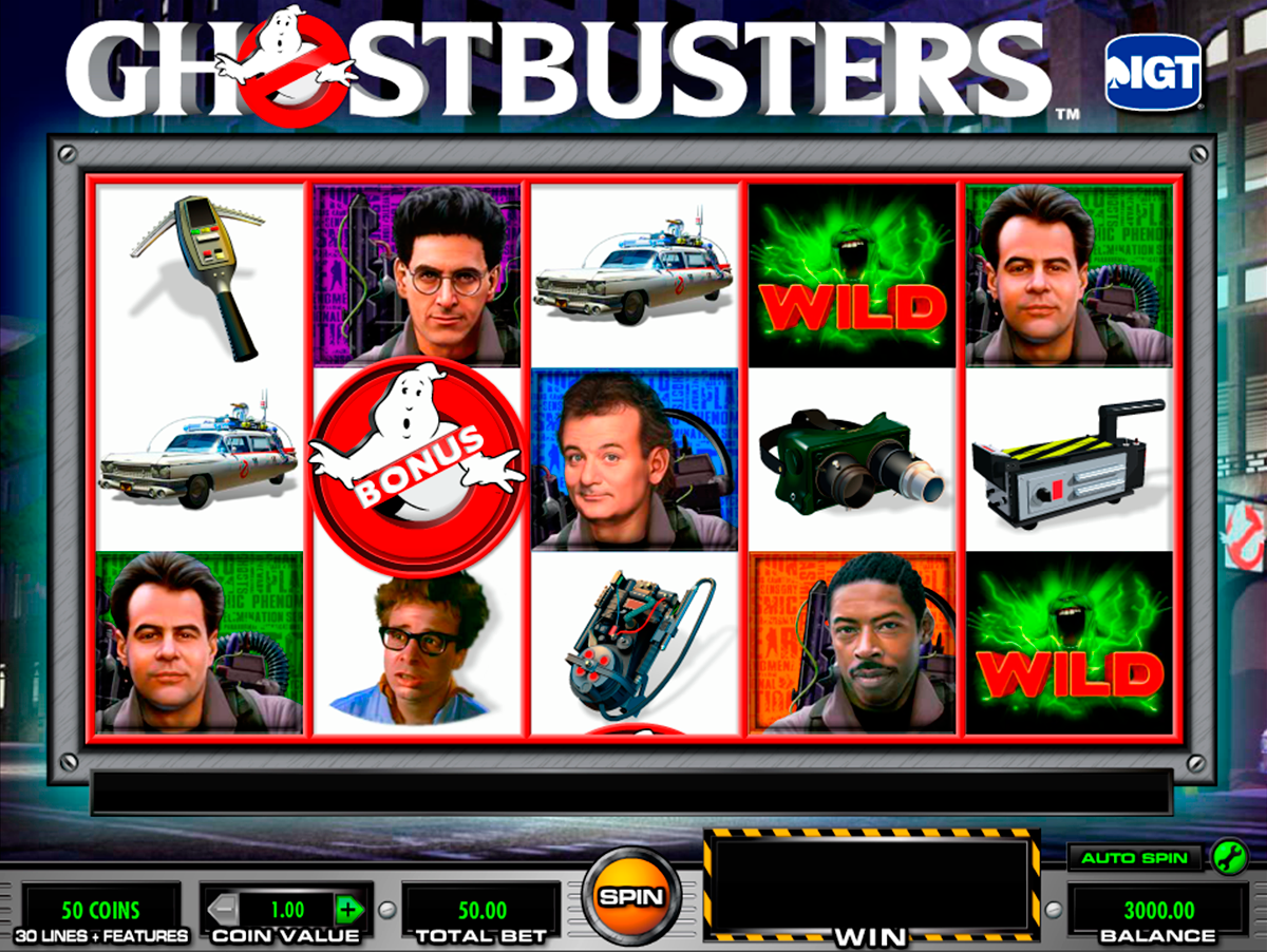 ghostbusters igt online slots