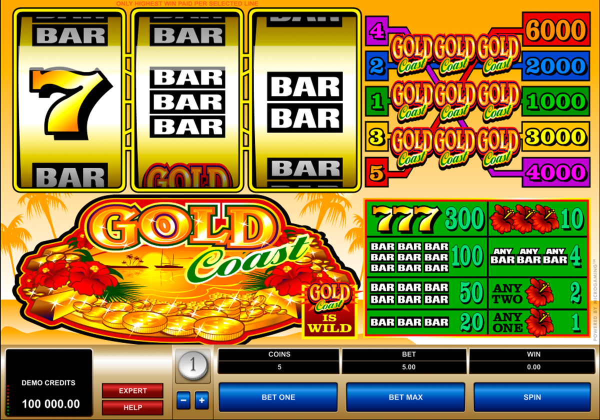 gold coast microgaming online slots