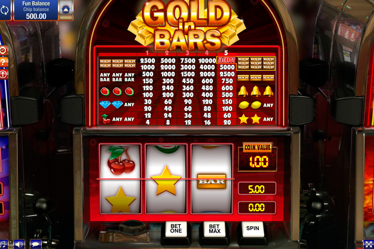gold in bars gamesos online slots