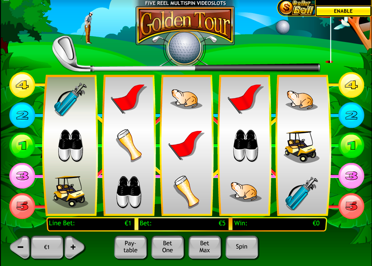 golden tour playtech online slots