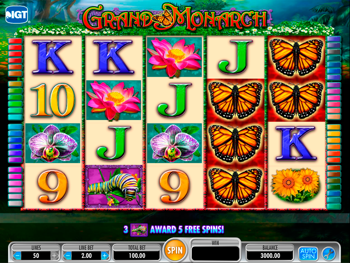 grand monarch igt online slots