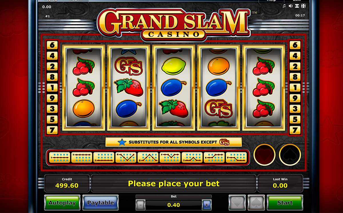 grand slam novomatic online slots