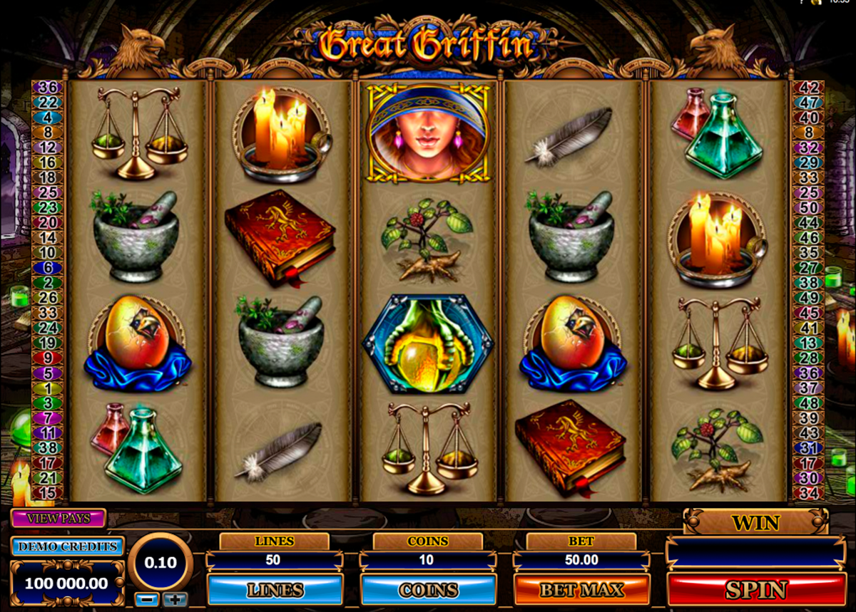 great griffin microgaming online slots