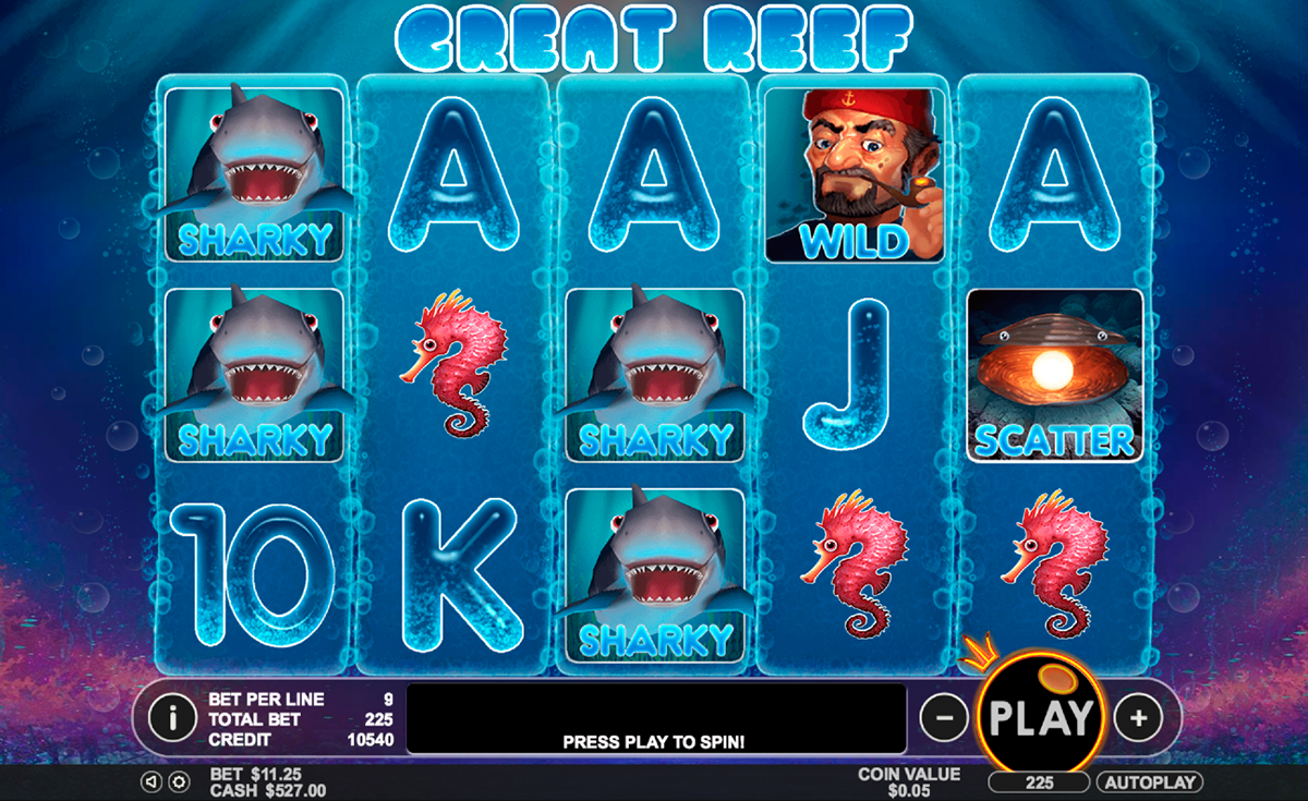 great reef pragmatic online slots