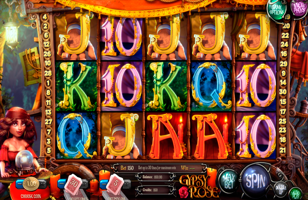 gypsy rose betsoft online slots