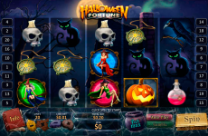 halloween fortune playtech online slots