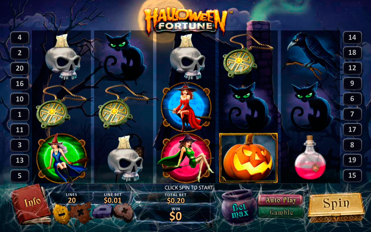 halloween fortune online slot game