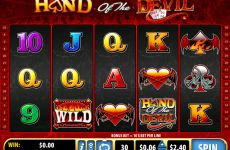 hand of the devil bally online slots