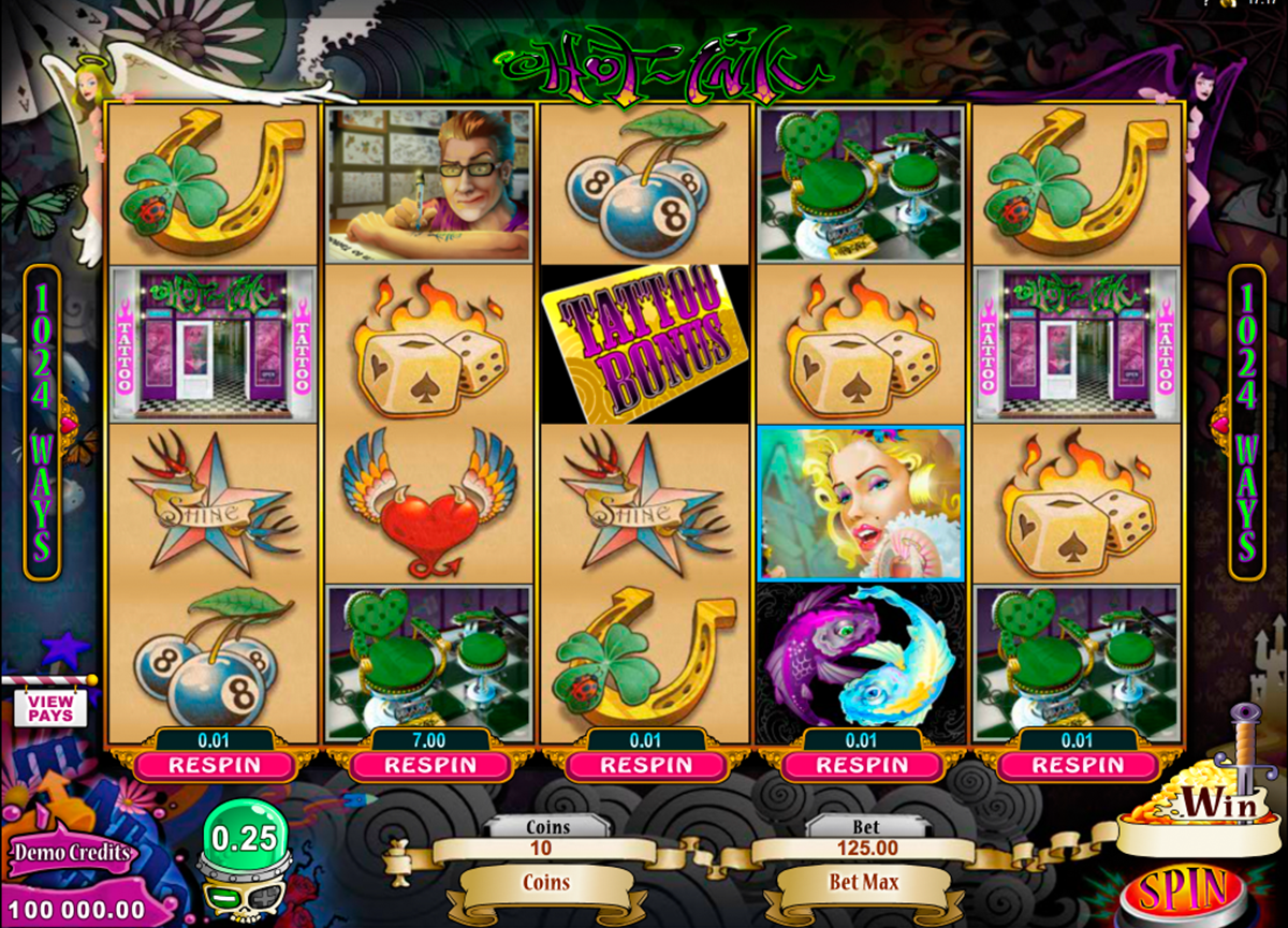 hot ink microgaming online slots