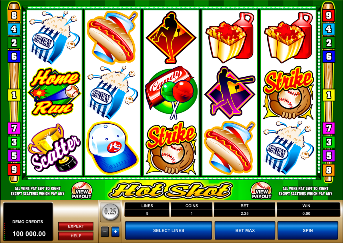 hot shot microgaming online slots