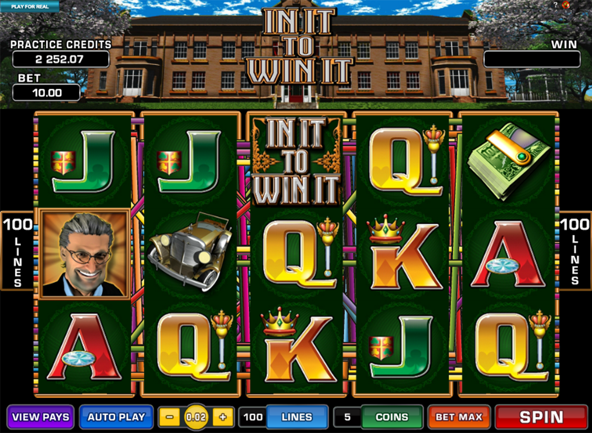 in it to win it microgaming online slots