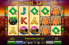 indian spirit novomatic online slots