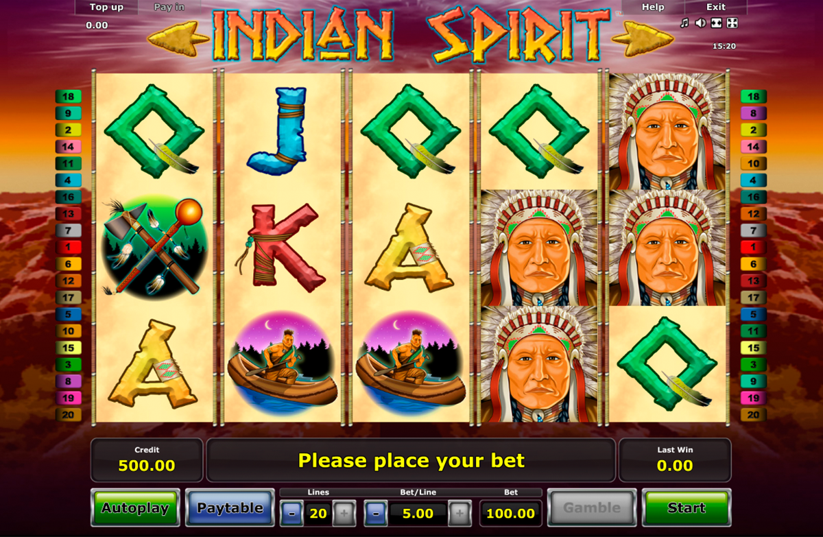 Indian Princess Slot - Available Online for Free or Real