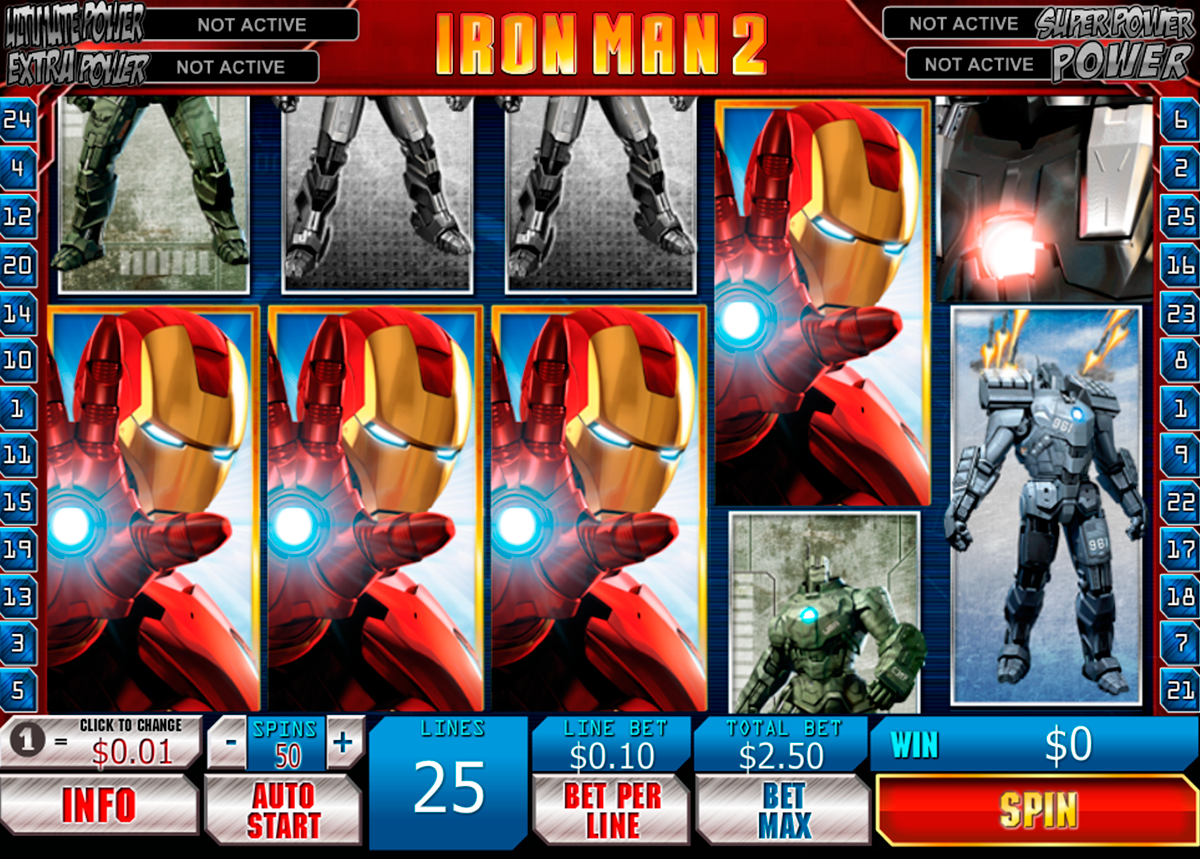 Iron Man 2 Online Slot