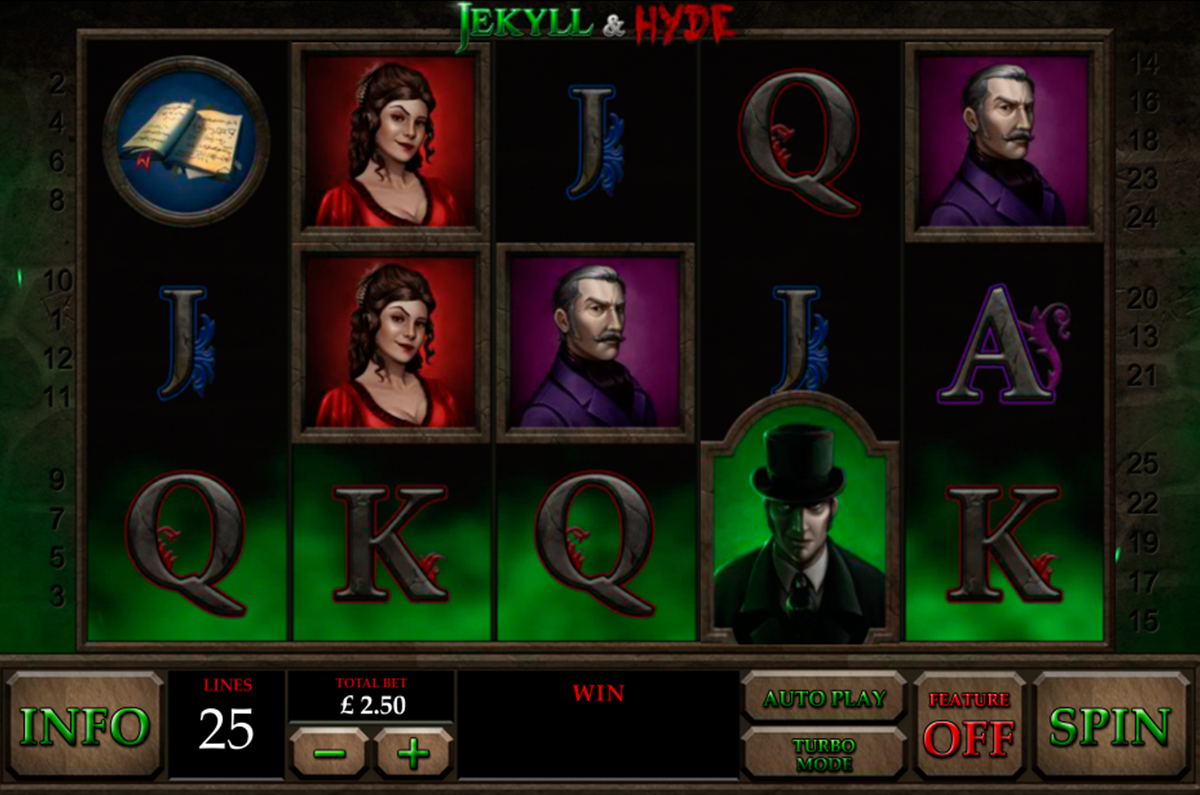 jekyll and hyde playtech online slots