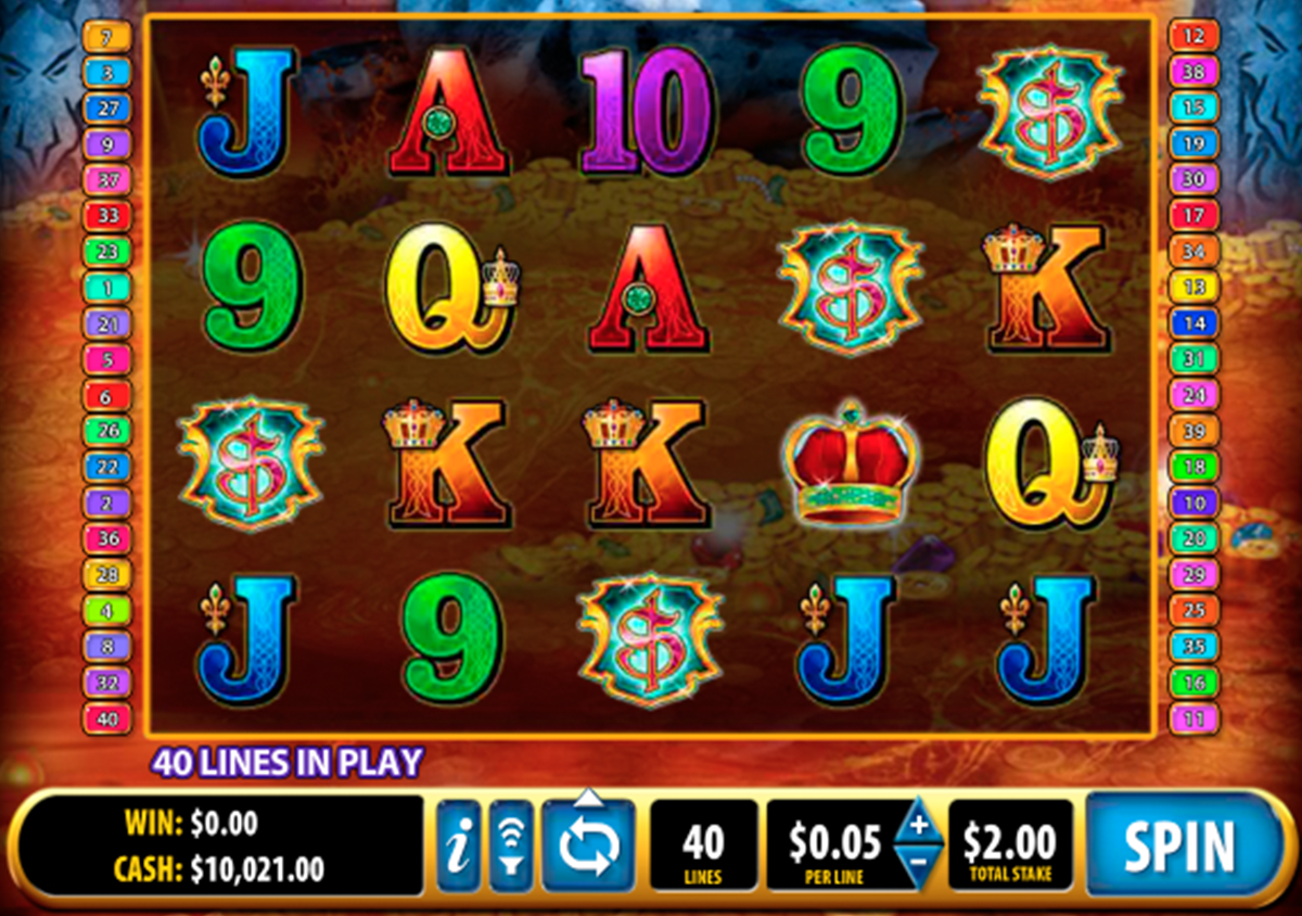 jewel of the dragon bally online slots