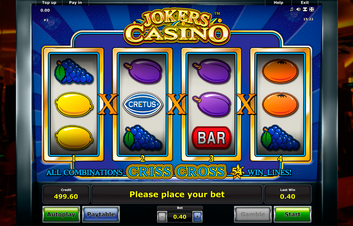 Spiele 3x Joker Play - Video Slots Online