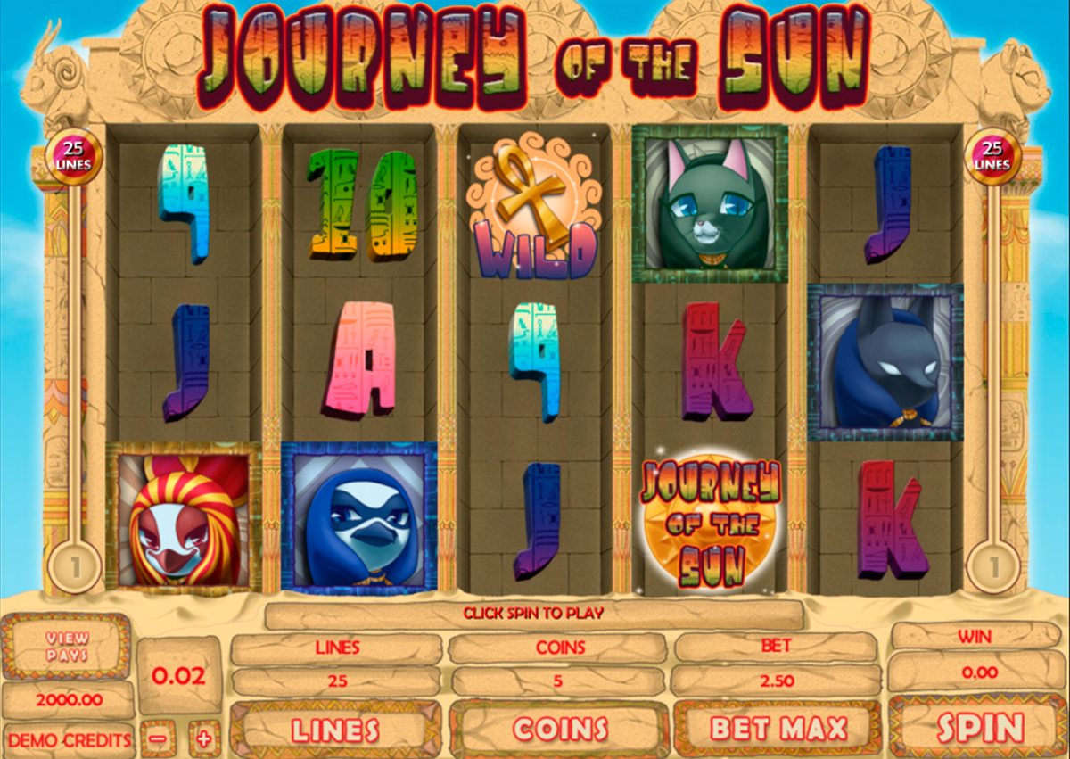 journey of the sun genesis online slots