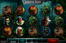 jurassic park microgaming online slots
