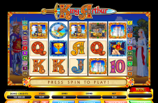 king arthur microgaming online slots