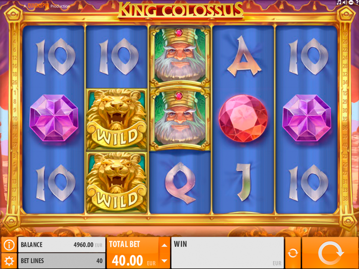 king colossus quickspin online slots