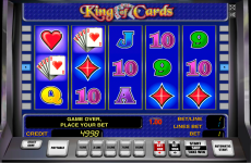 king of cards novomatic online slots