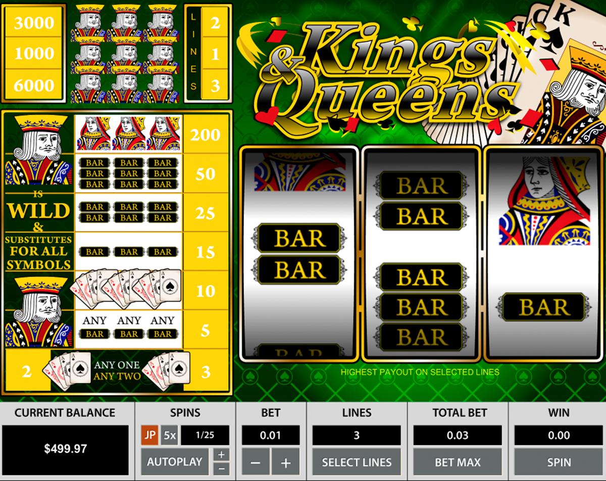 Kings & Queens Slot Machine Online ᐈ Pragmatic Play™ Casino Slots