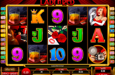 lady in red microgaming online slots
