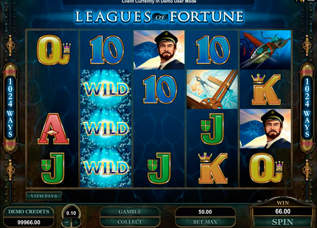 leagues of fortune microgaming online slots