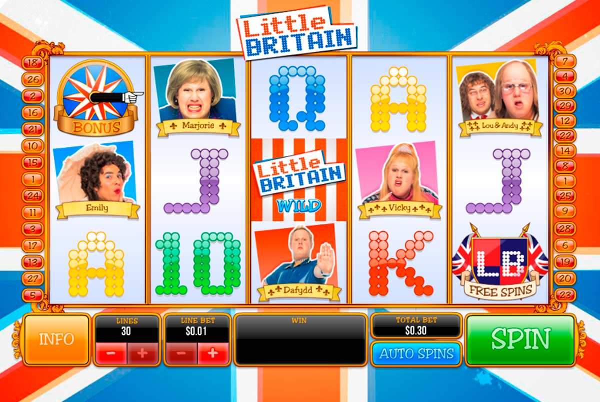 little britain playtech online slots