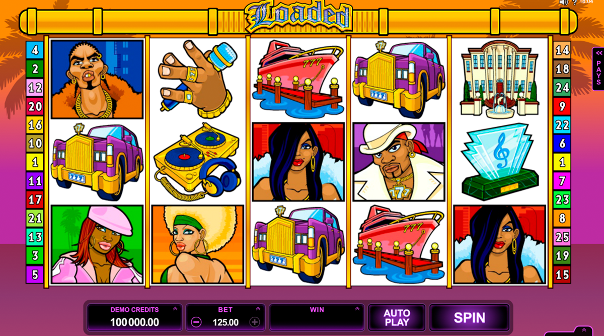 loaded microgaming online slots