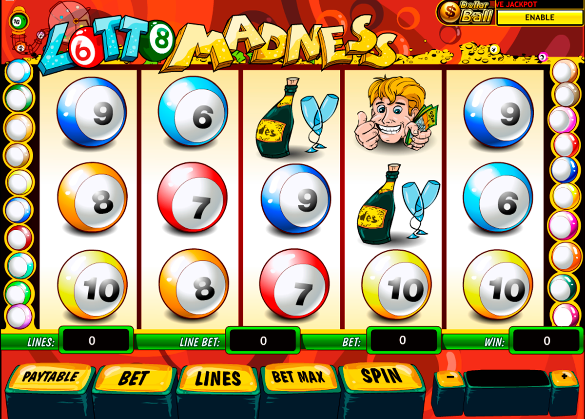 lotto madness playtech online slots