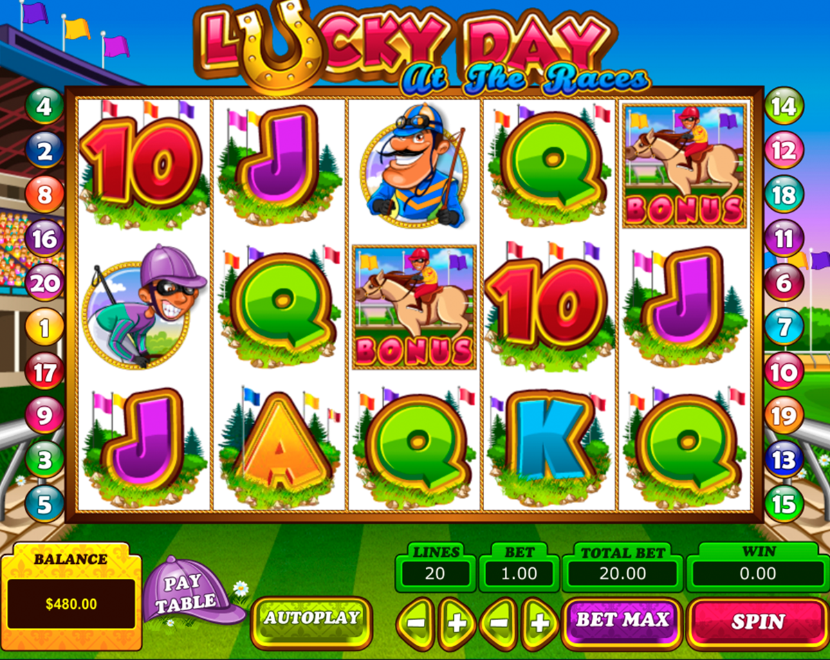 lucky day at the races pragmatic online slots