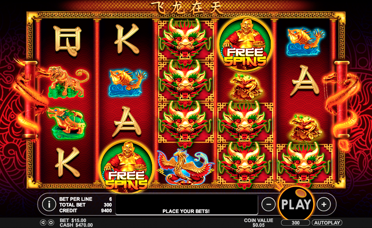 lucky dragons pragmatic online slots