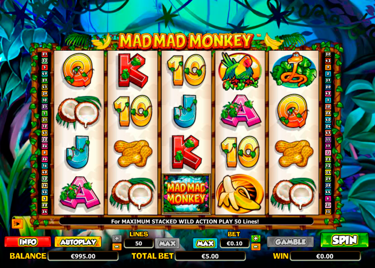 mad mad monkey nextgen gaming online slots