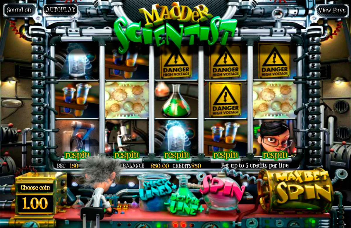 madder scientist betsoft online slots
