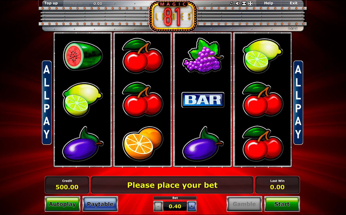 Spiele Magic 81 Lines - Video Slots Online